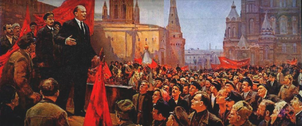 The moment of revolution, image courtesy libcom.org